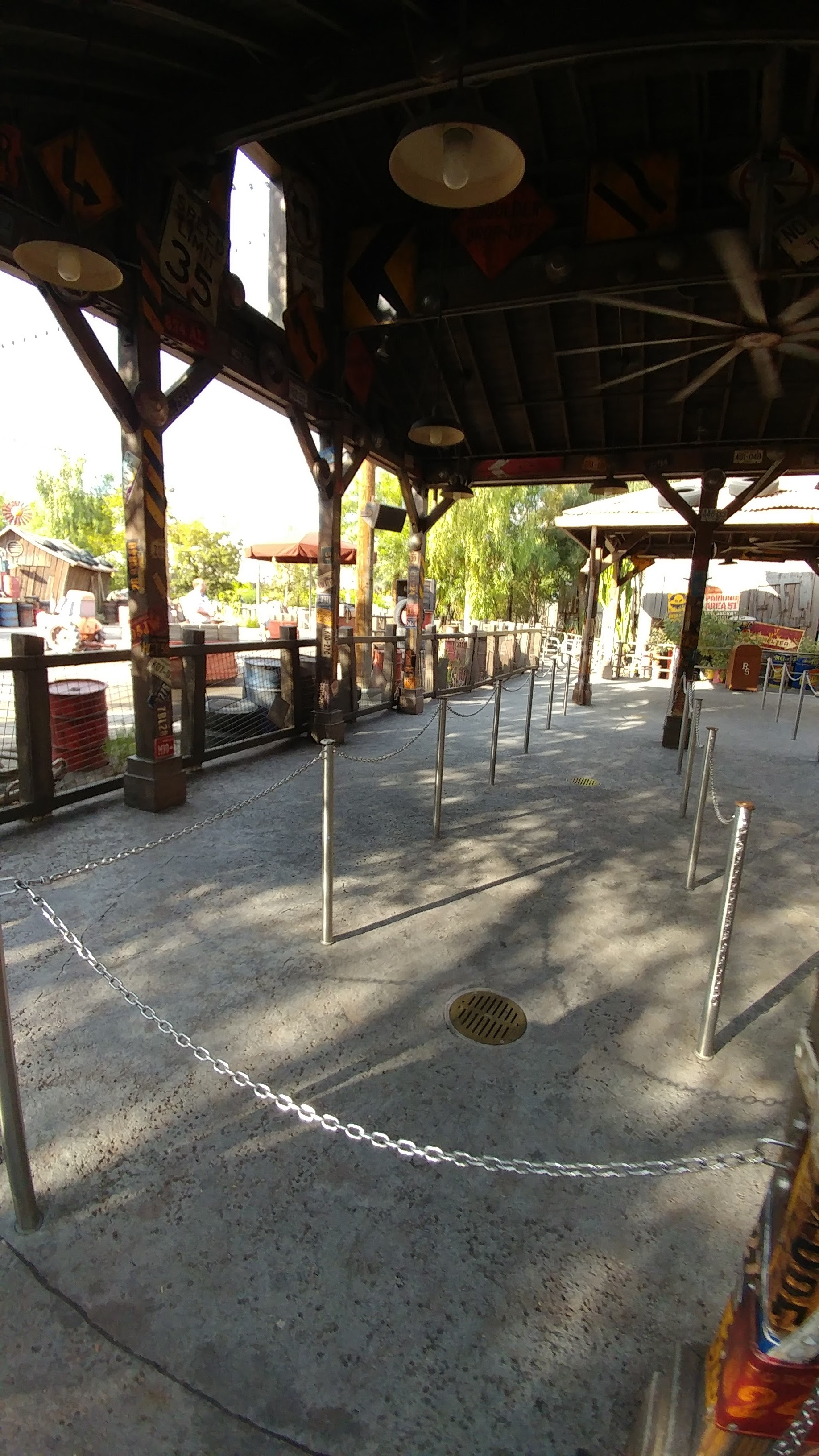 Mater's Junkyard Jamboree - Disney California Adventure