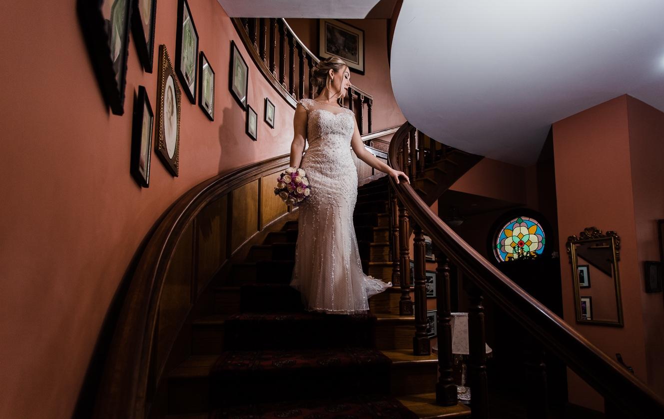 bride staircase