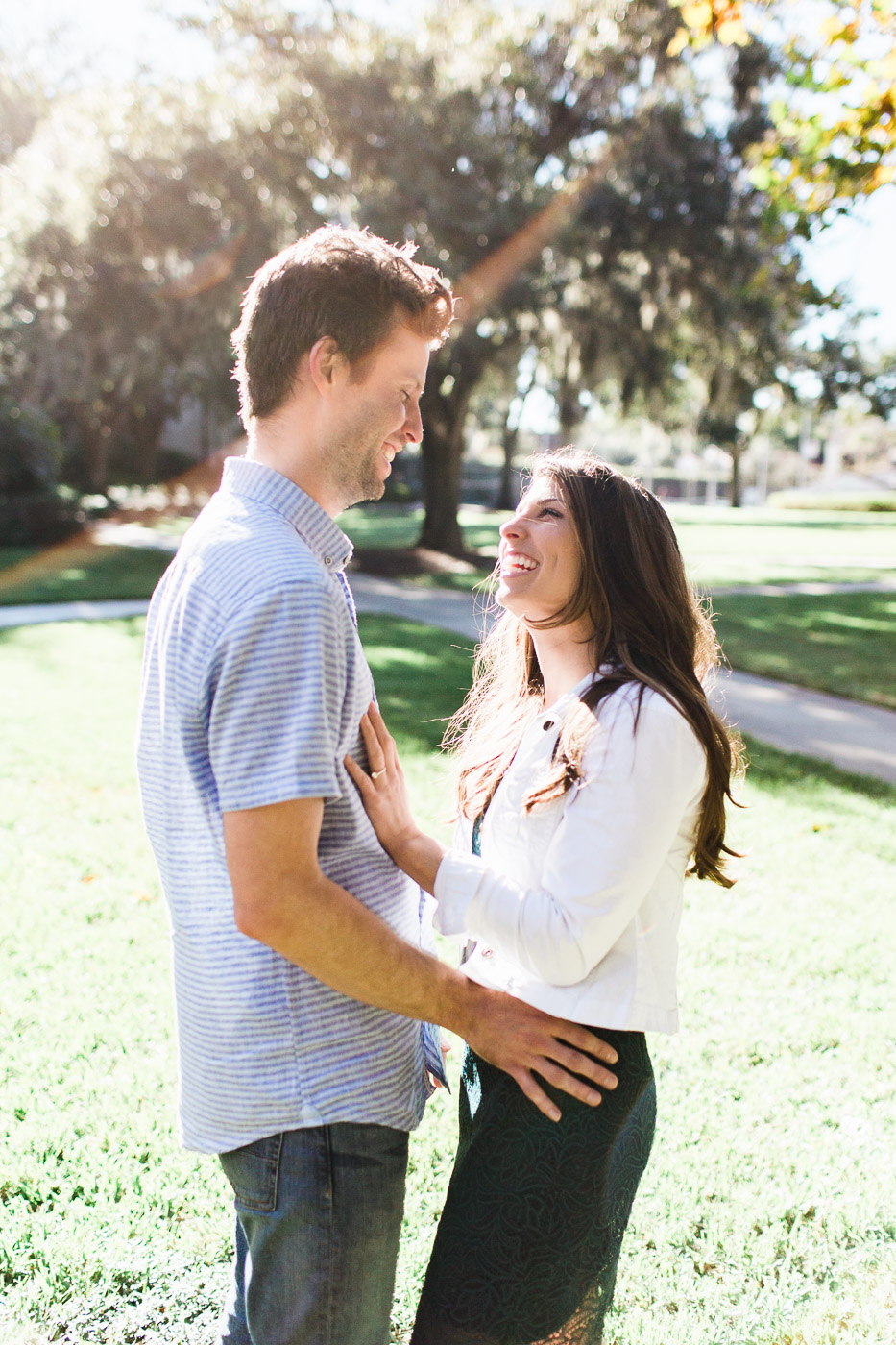 Rollins College Engagement Photos