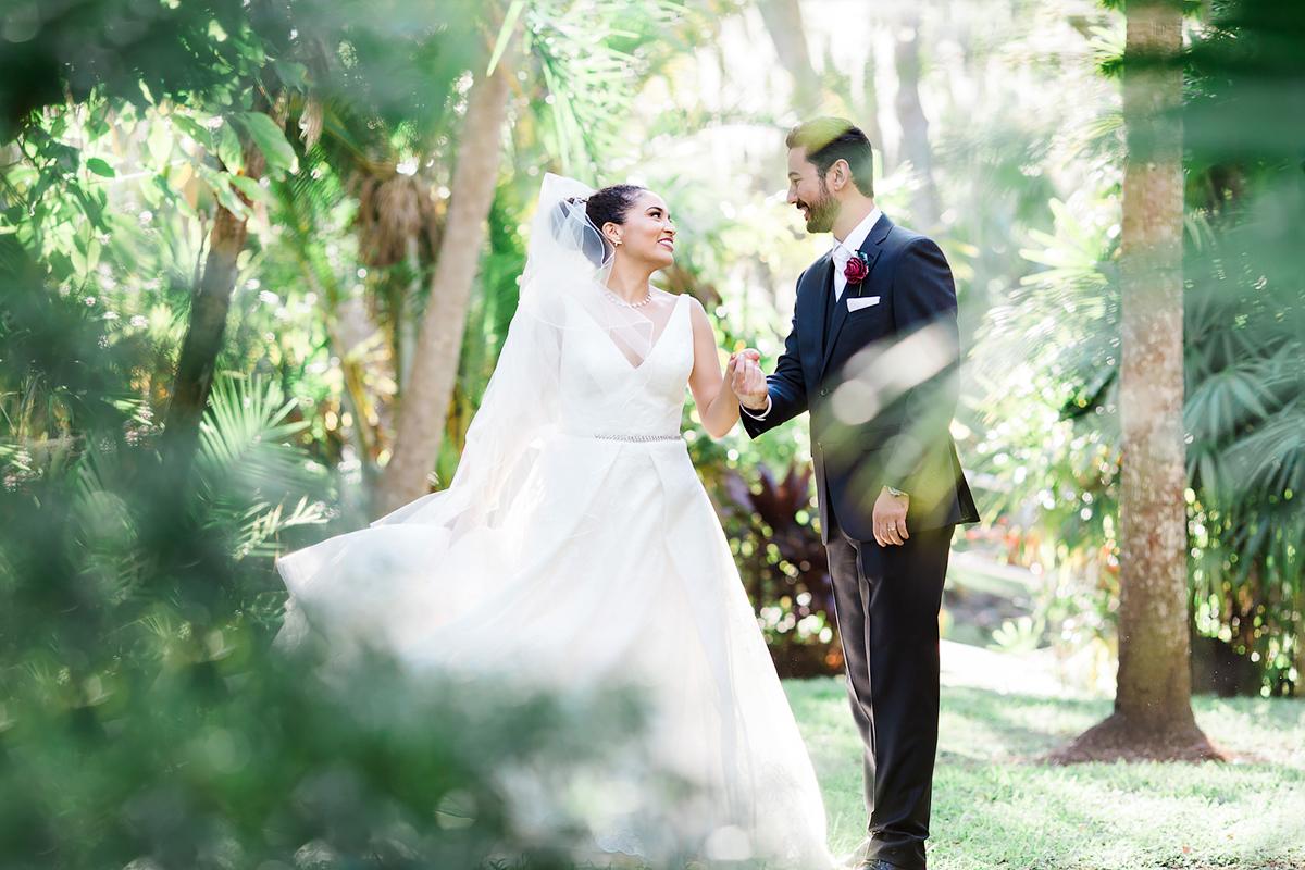 FIT Botanical Gardens Wedding