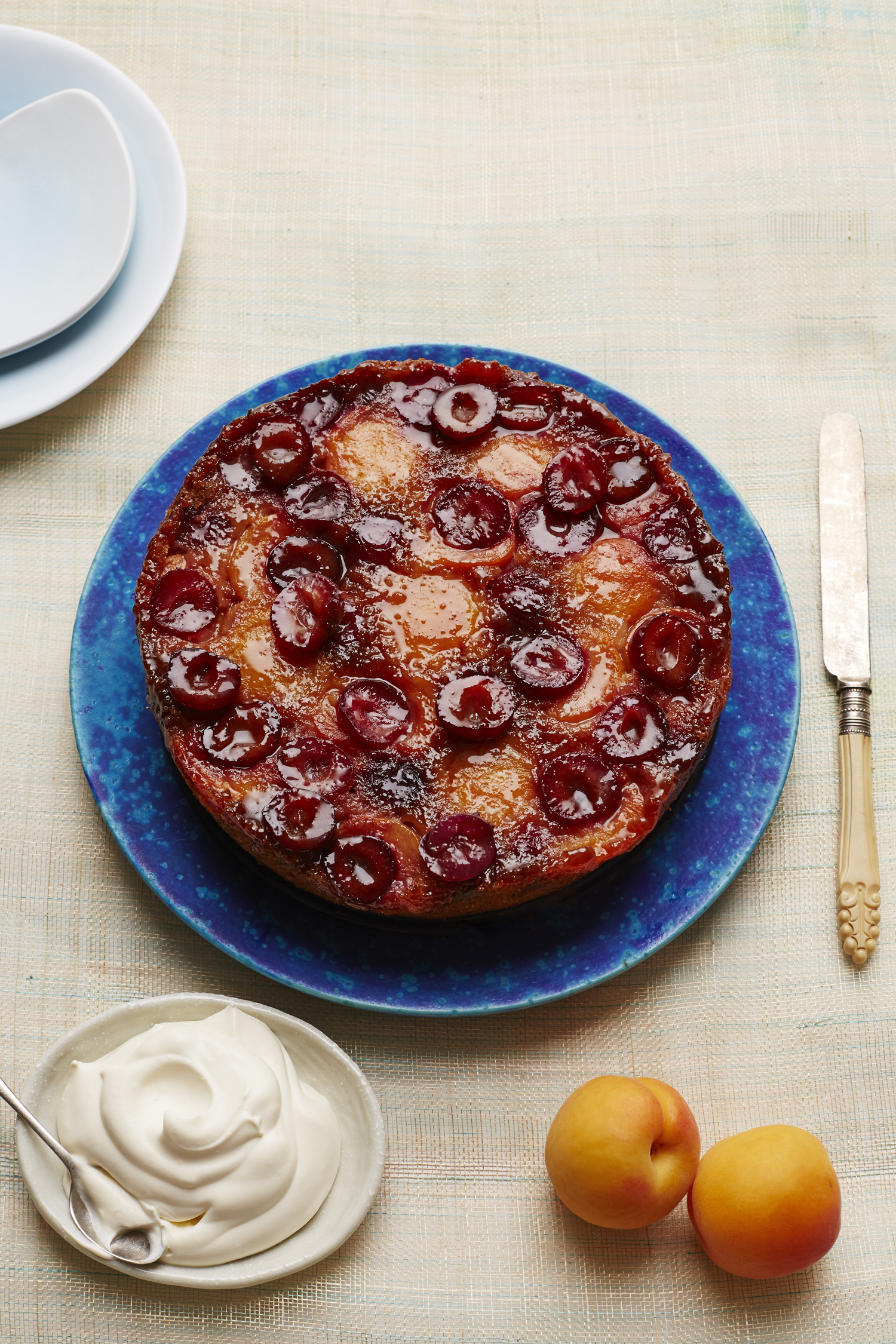 THE SUNDAY TIMES MAGAZINE Candice Brown's Upside Down Apricot & Cherry Cake