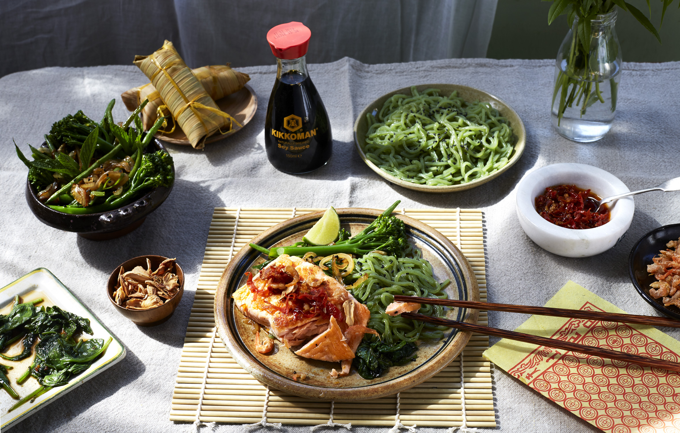 KIKKOMAN Food Styling: Laurie Perry