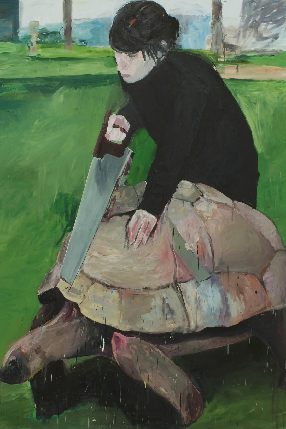 Eduardo Berliner,  Handsaw , 2009, courtesy of the artist.