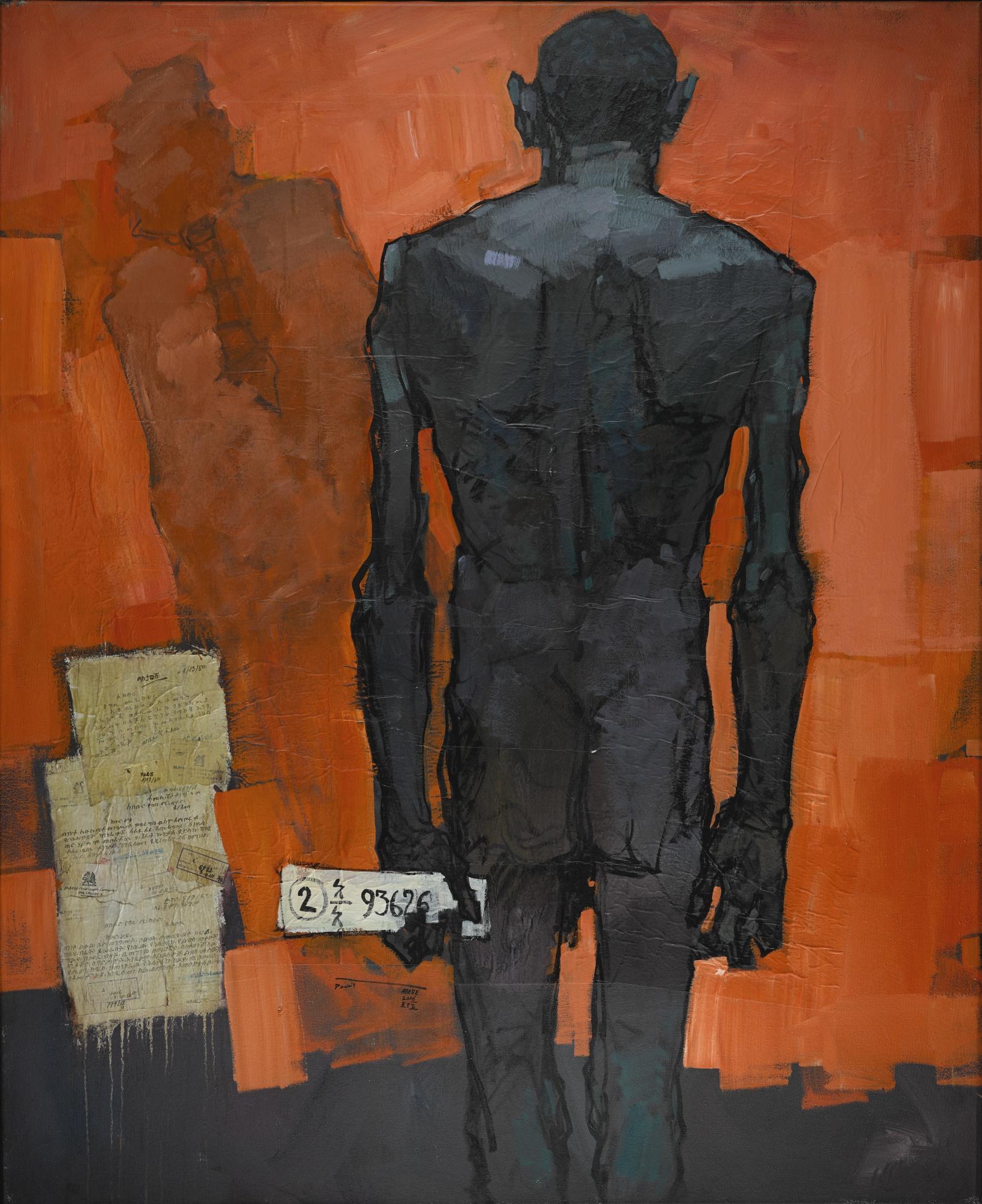Dawit Abebe,  No.2 Background 5 , 2014, courtesy of Kristin Hjellegjerdge Gallery
