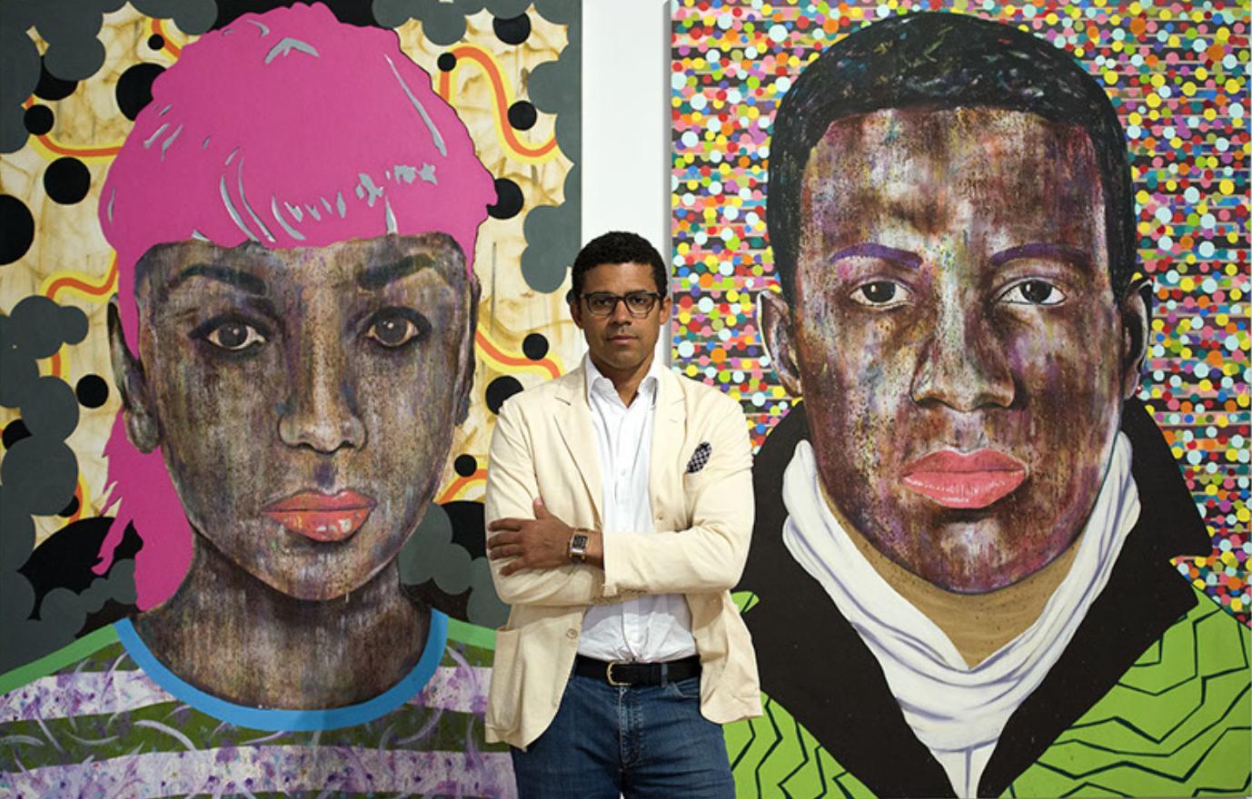 Portrait of Sindika Dokolo, courtesy of New African Magazine.