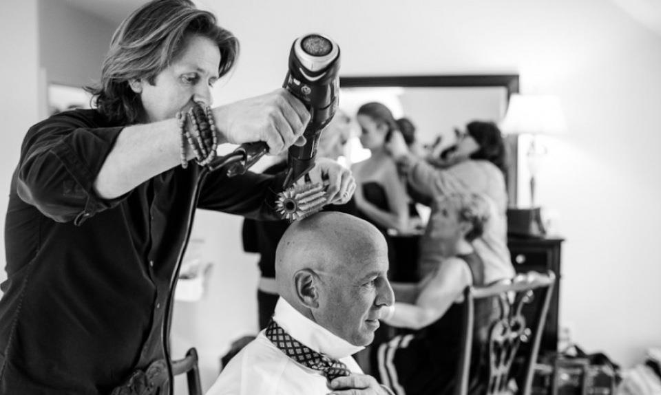 Timothy Pamment, Celebrity Stylist, thoroughly enjoys working with clients in the salon as well as on location for weddings, photoshoots, campaigns, and runway shows.