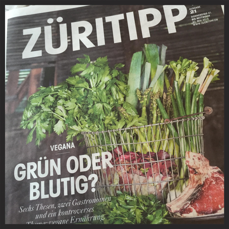 Mai 2015, Züritipp     Das Essduell