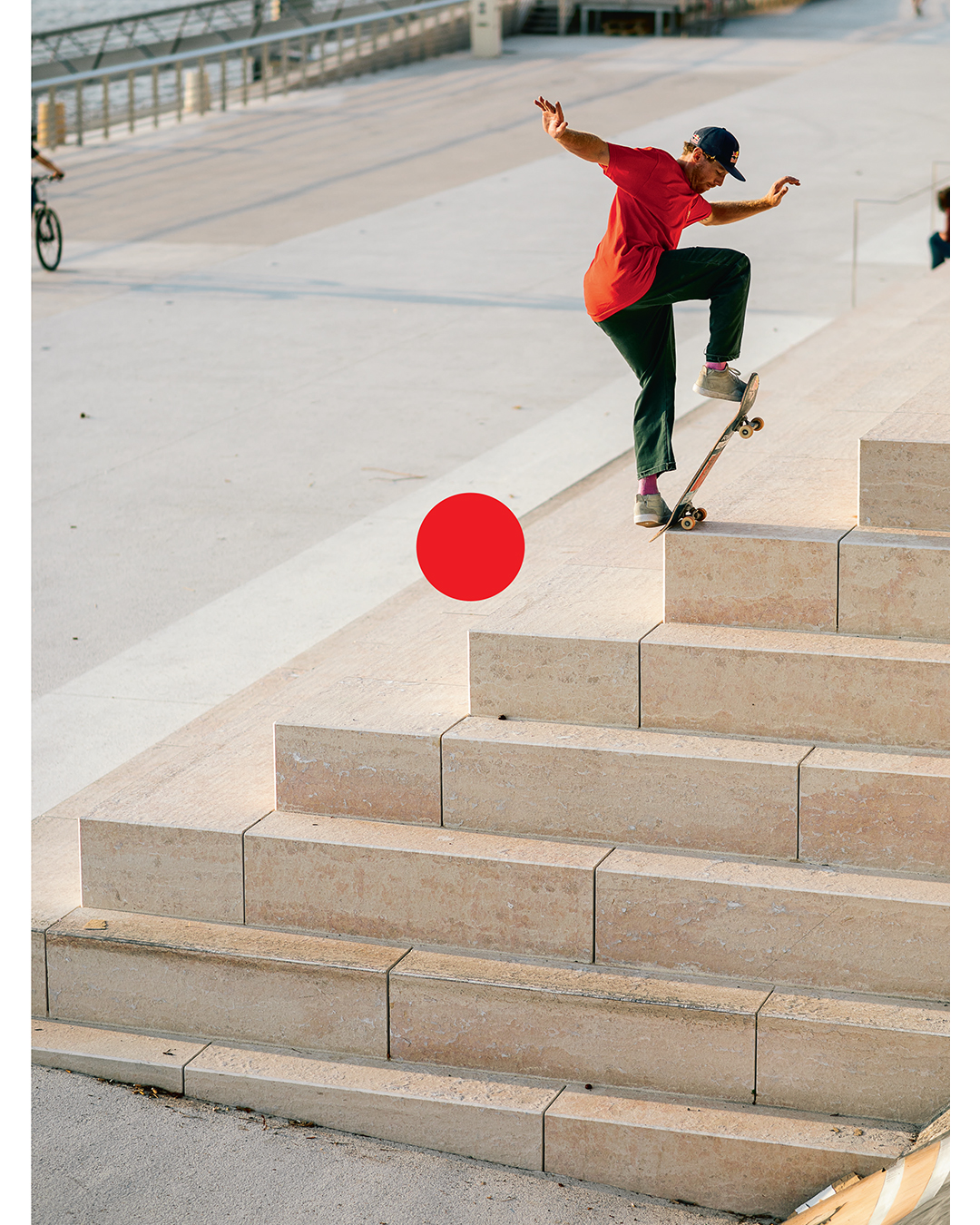 Barney Page. Cover of the Free Mag #21. Photo Clément Le Gall.