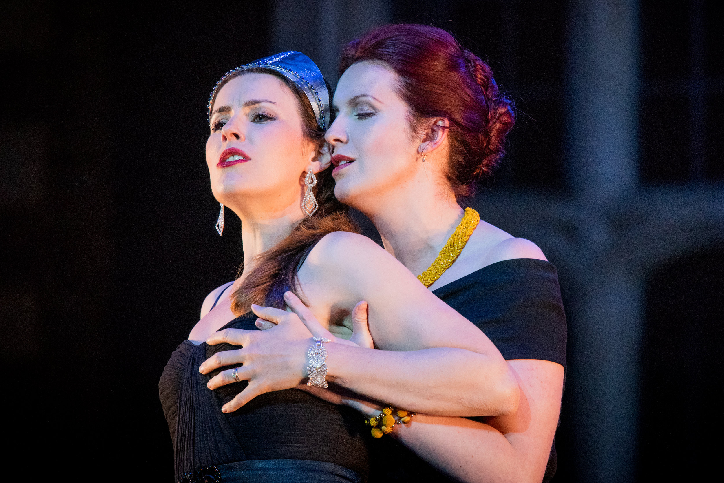 SWAP'ra Gala OHP 2018- Pictured with Anna Devin in a scene from L'incoronazione di Poppea (Photo by Robert Workman)
