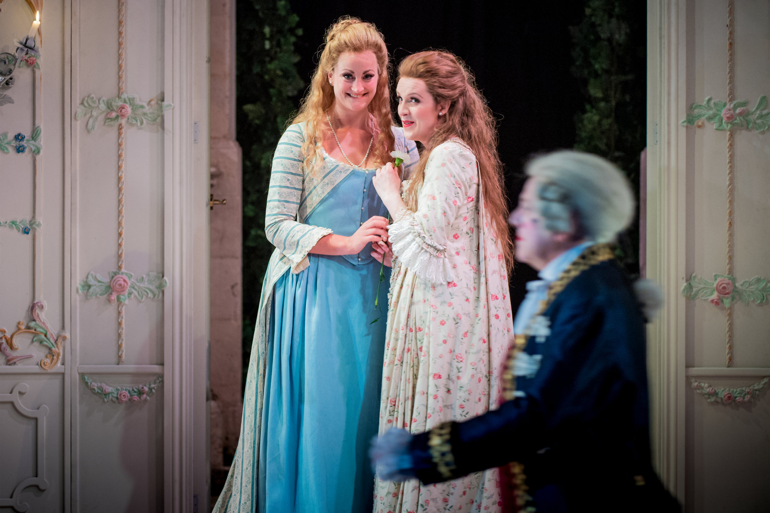 Cosi fan tutte- OHP 2018- Pictured with Eleanor Dennis (Photo byRobert Workman)