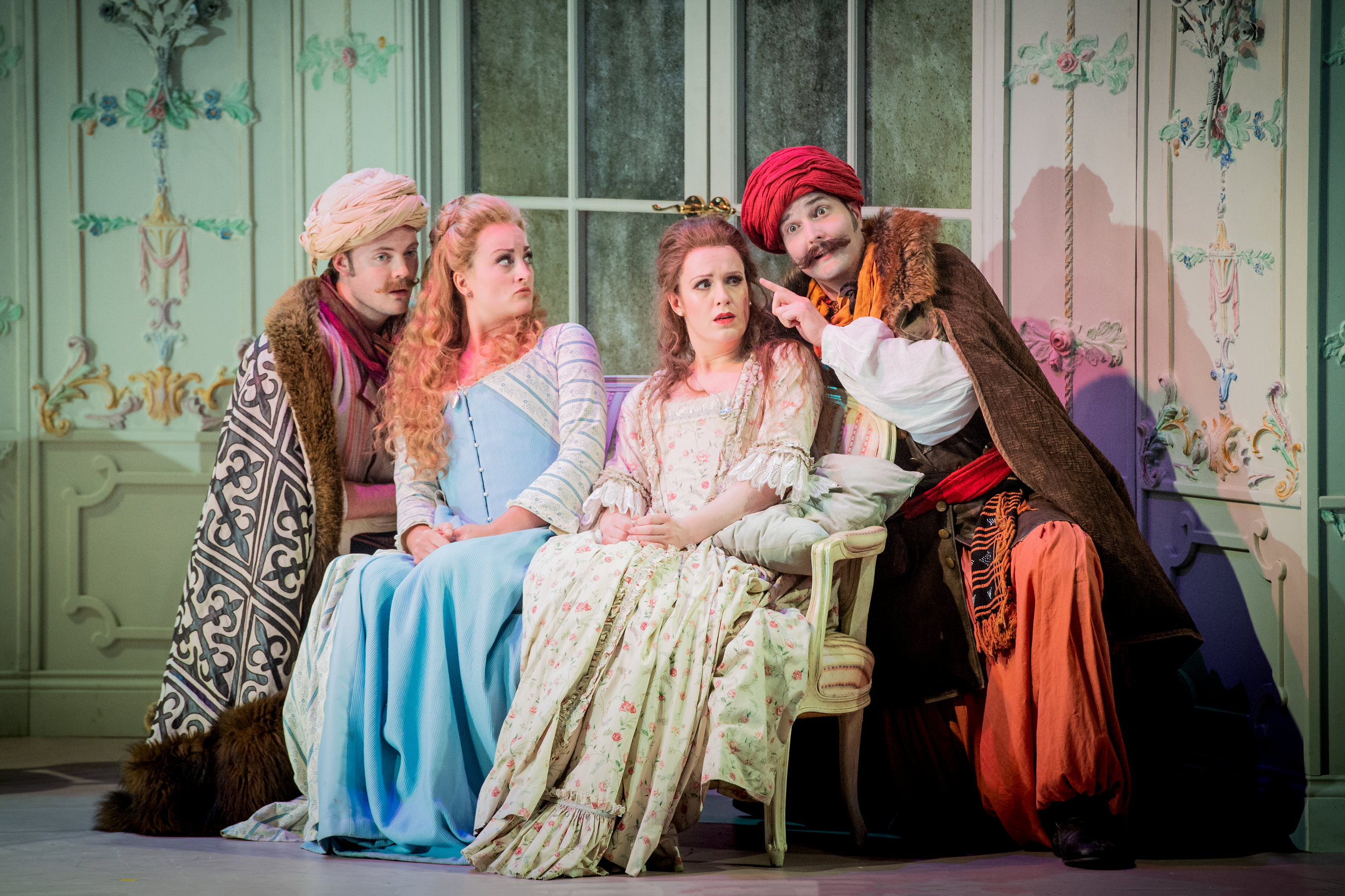 Cosi fan tutte- OHP 2018- Pictured with Eleanor Dennis, Nicolas Pritchard and Nicolas Lester (Photo by Robert Workman)