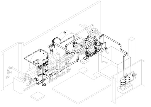 Existing and New Piping Design