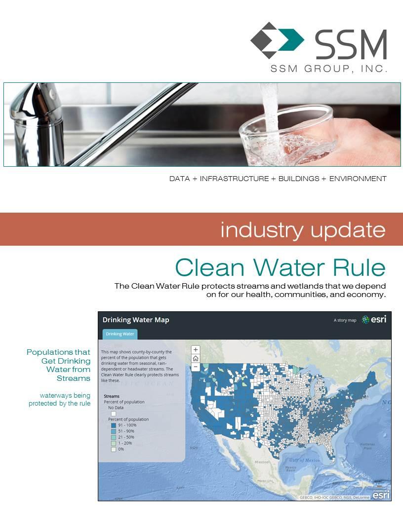 INDUSTRY UPDATE: Clean Water Rule