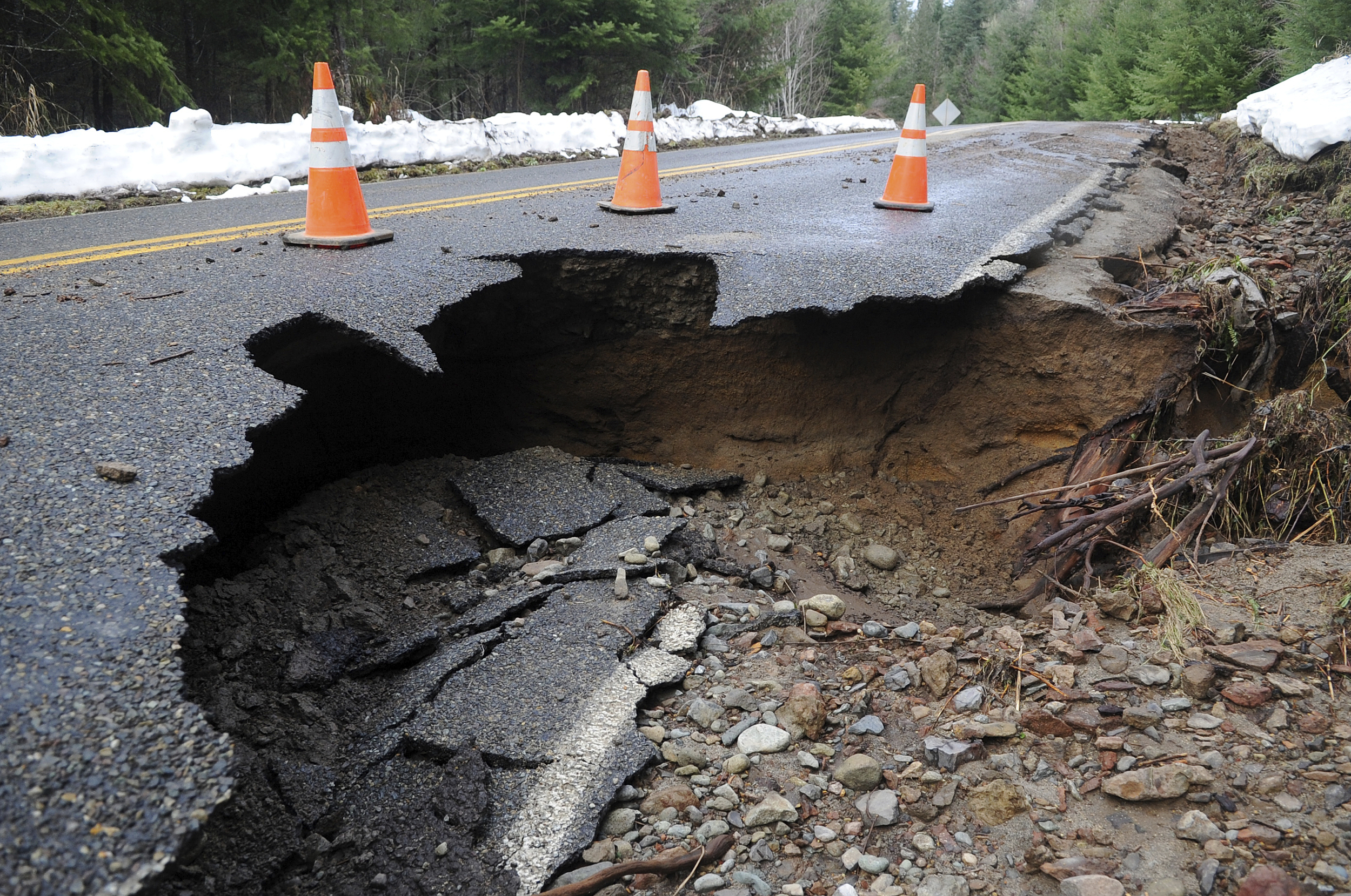 Sinkholes can be dangerous in many ways.