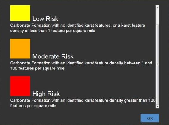 MEASURING SINKHOLE POTENTIAL RISK