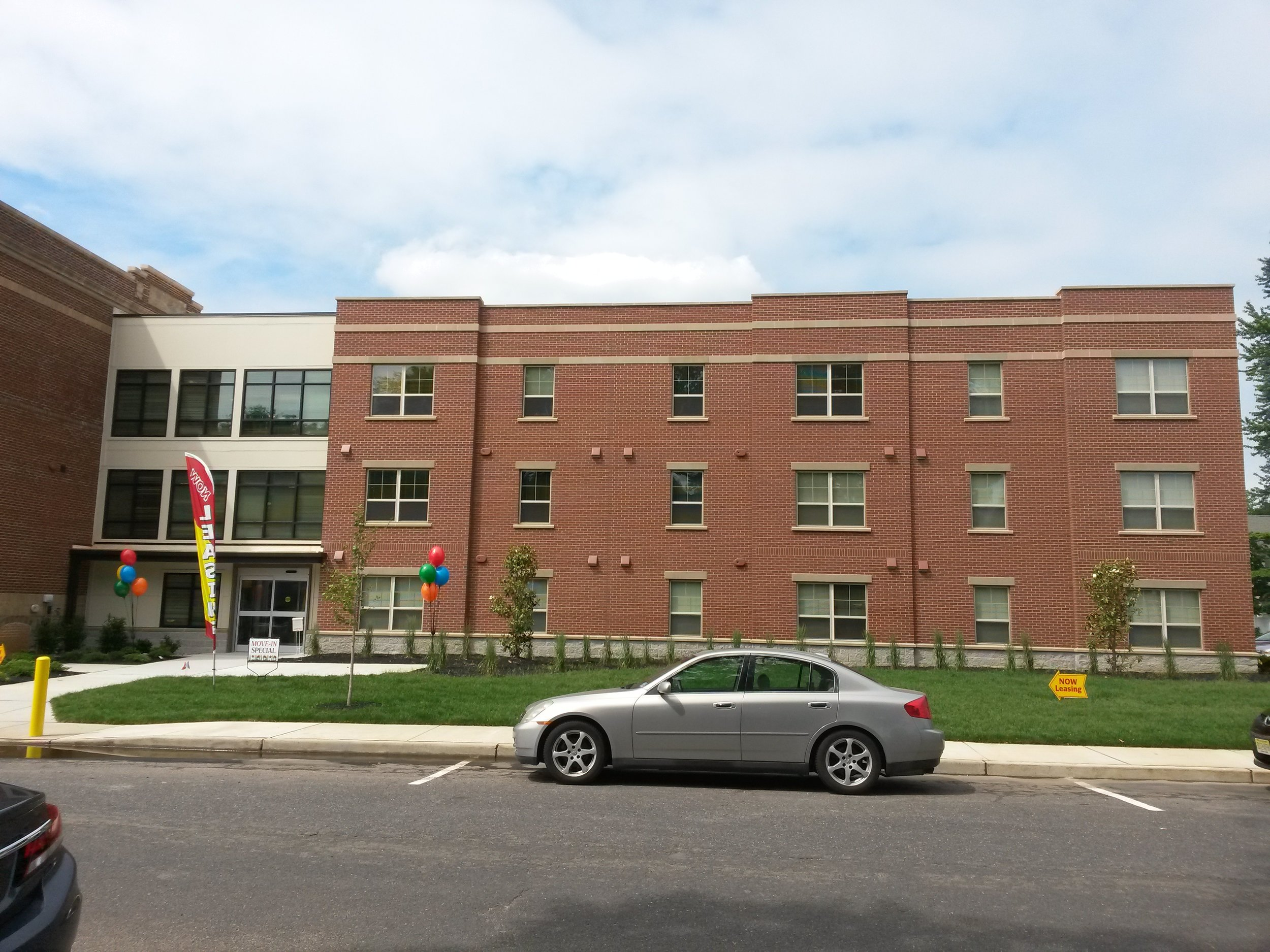 AFTER: DUFFY SCHOOL APARTMENTS ADDITION