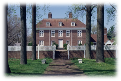 "Pennsbury Manor , known as ""William Penn's Country House"""