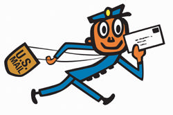 Mr. Zip was introduced in 1963 as a way of acclimating Americans to the new Zip Code System.
