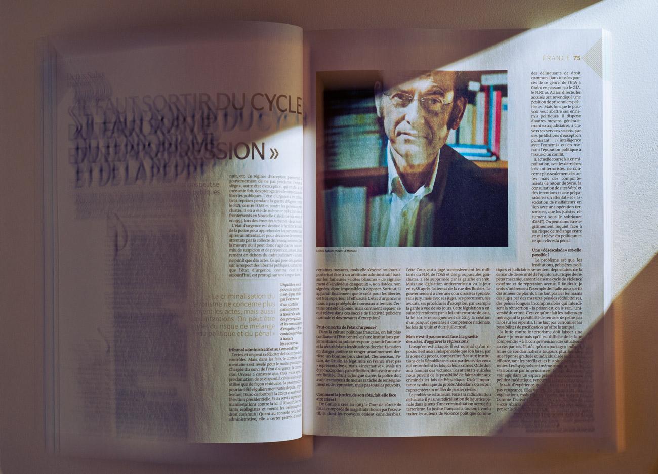 Lionel Samain pour Le Monde