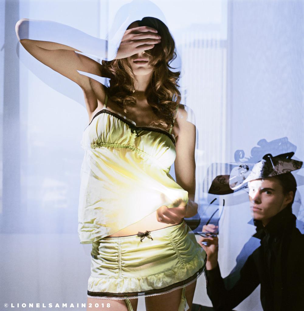 Models are Zolita & Nicolas Larosse. Make-up & Hair: Karima Maruan
