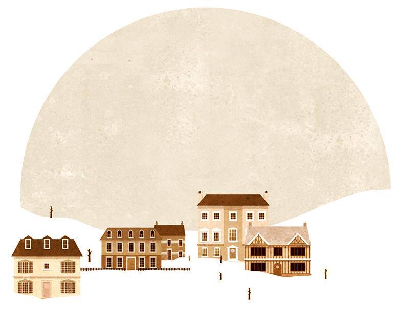 Historic Snow Town