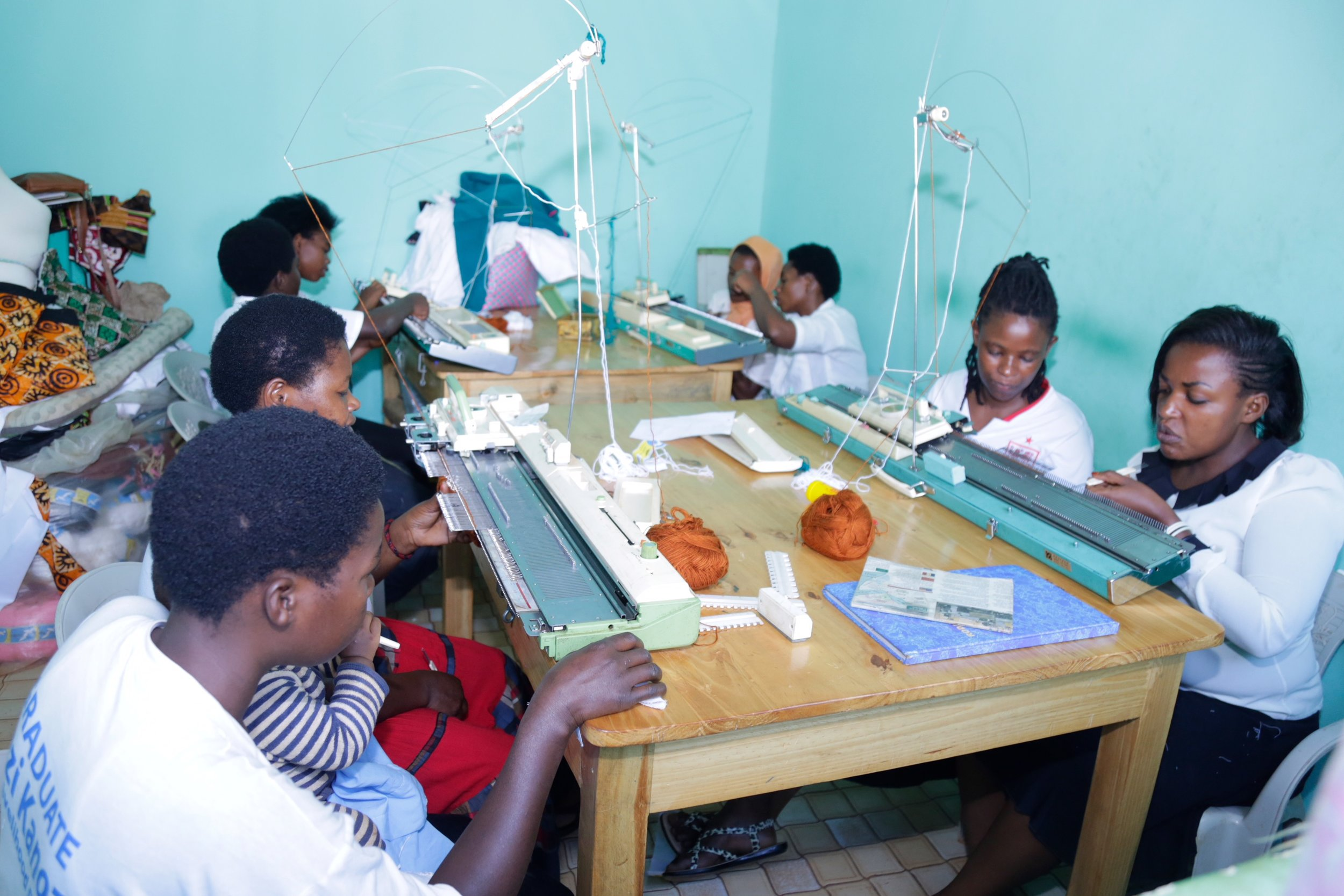 Learning new skills through the NDASHOBOYE 2018 program.