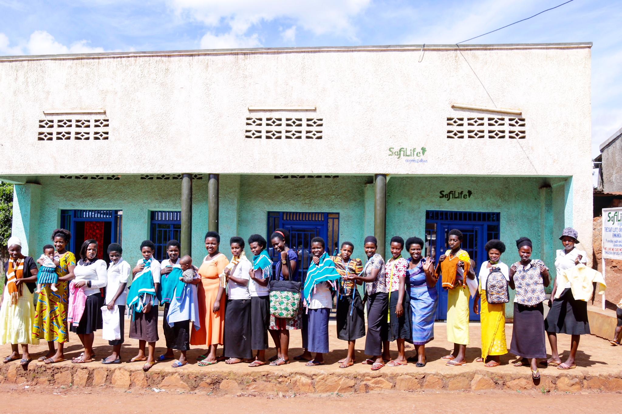 """Our NDASHOBOYE """"Safi Life"""" building near Kigali, Rwanda."""