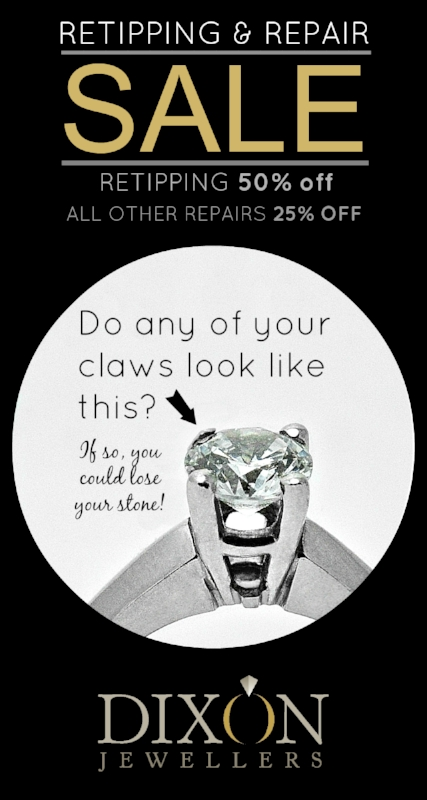 Repair and Retipping Sale