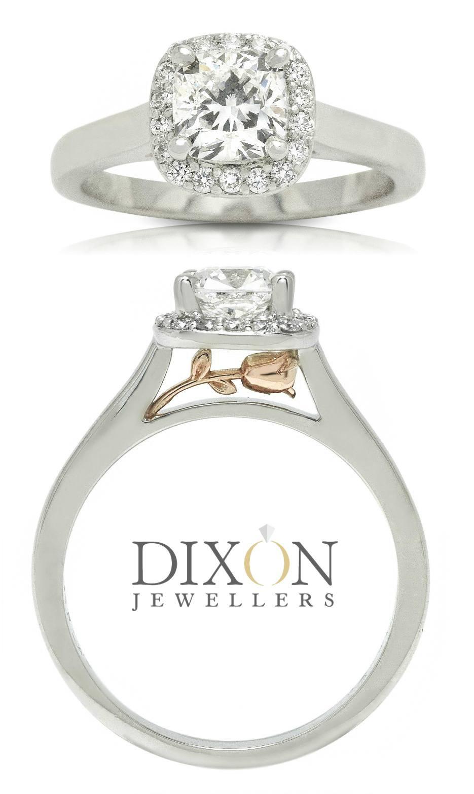 Secret Rose Custom Engagement Ring