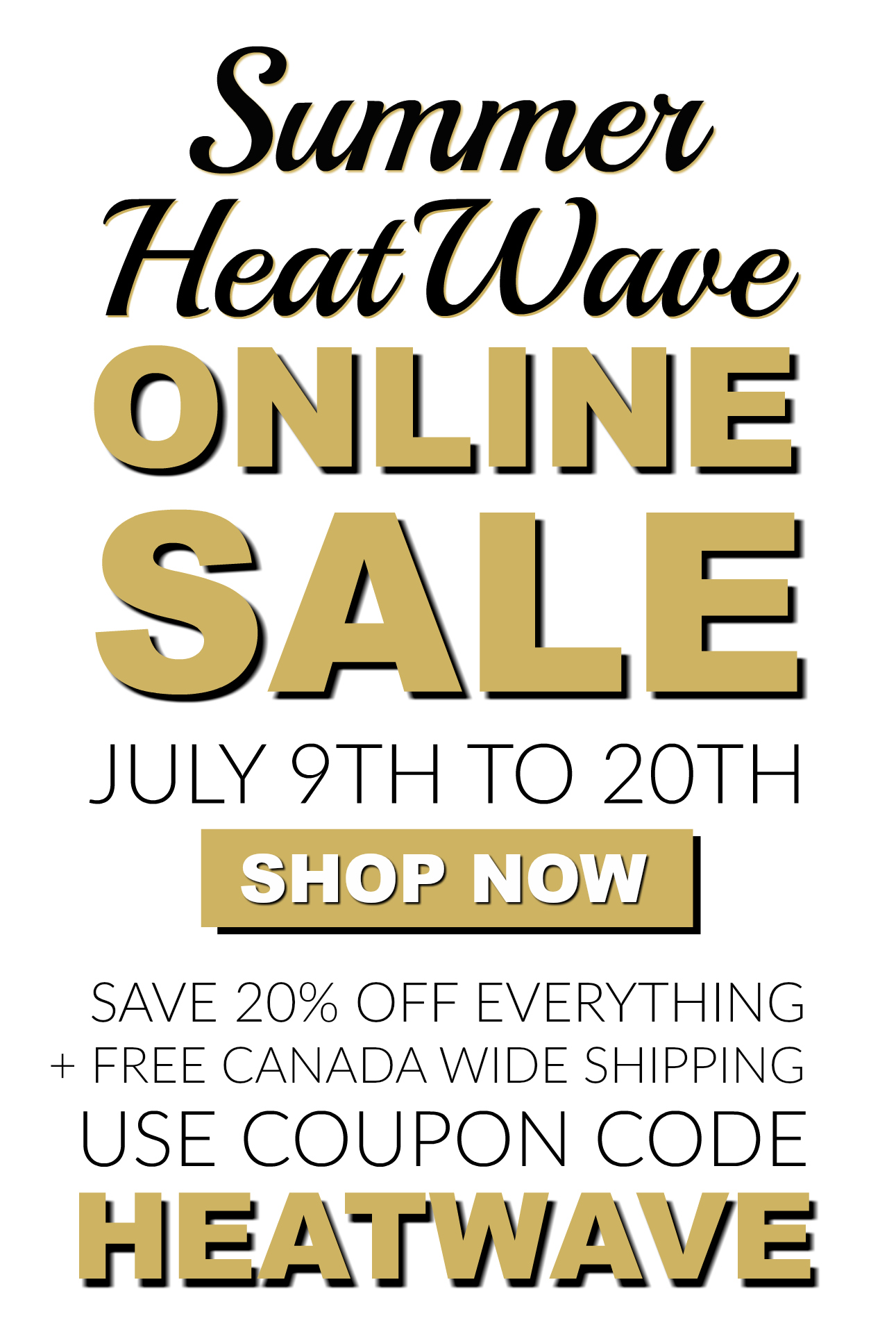 Summer Heat Wave Sale