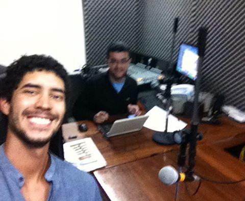 Entrevista en la radio metropolitana!