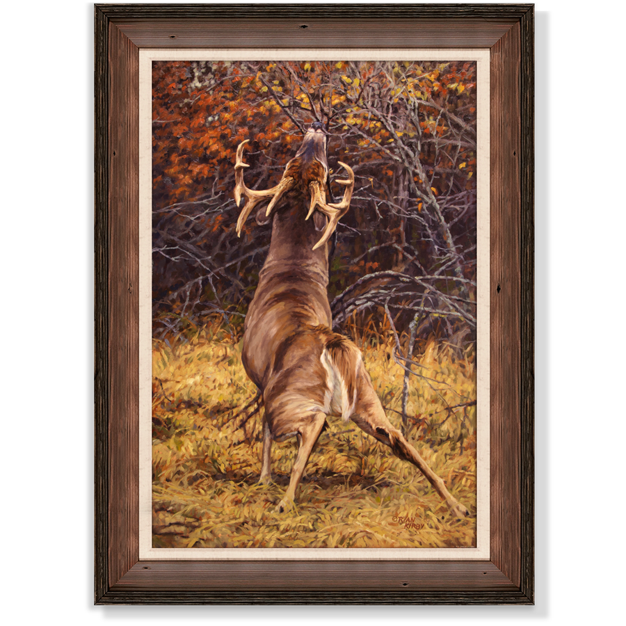 Ryan-Kirby-Deer-Scrape-Line-Framed-Canvas-Giclee.png