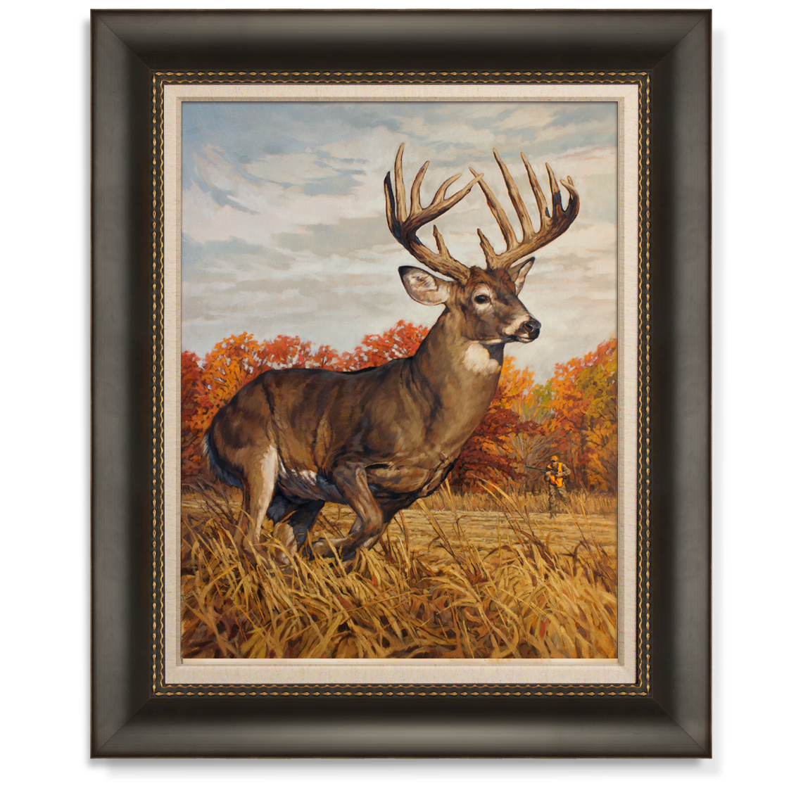 Ryan Kirby Art White Tailed Deer Canvas Giclees And Paper Prints