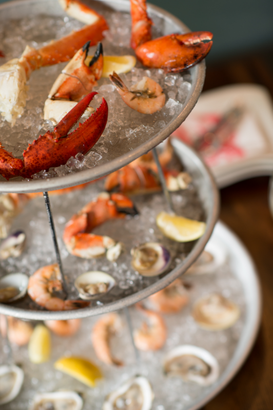 Seafood Tower at the Lobster Trap