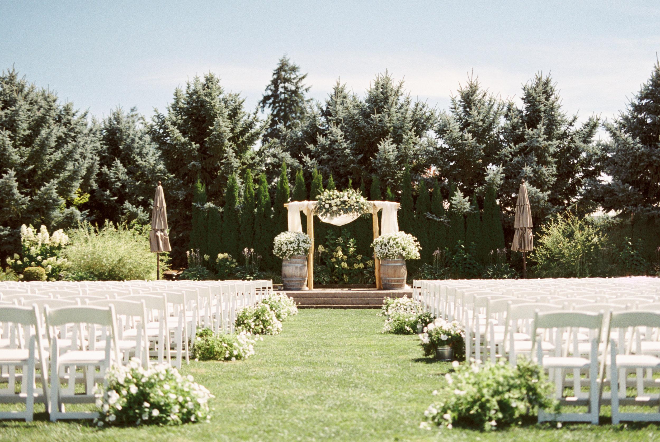 LABISH GARDENS WEDDING