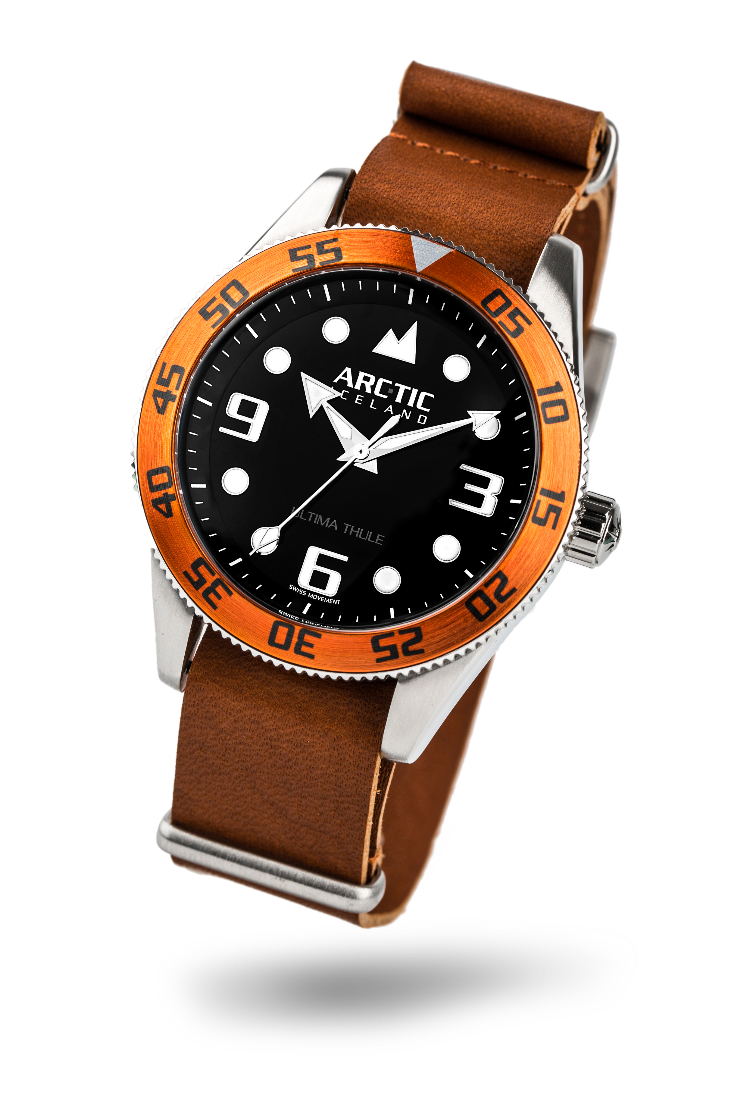ARC-TIC Iceland UT Orange with leather strap  Learn More
