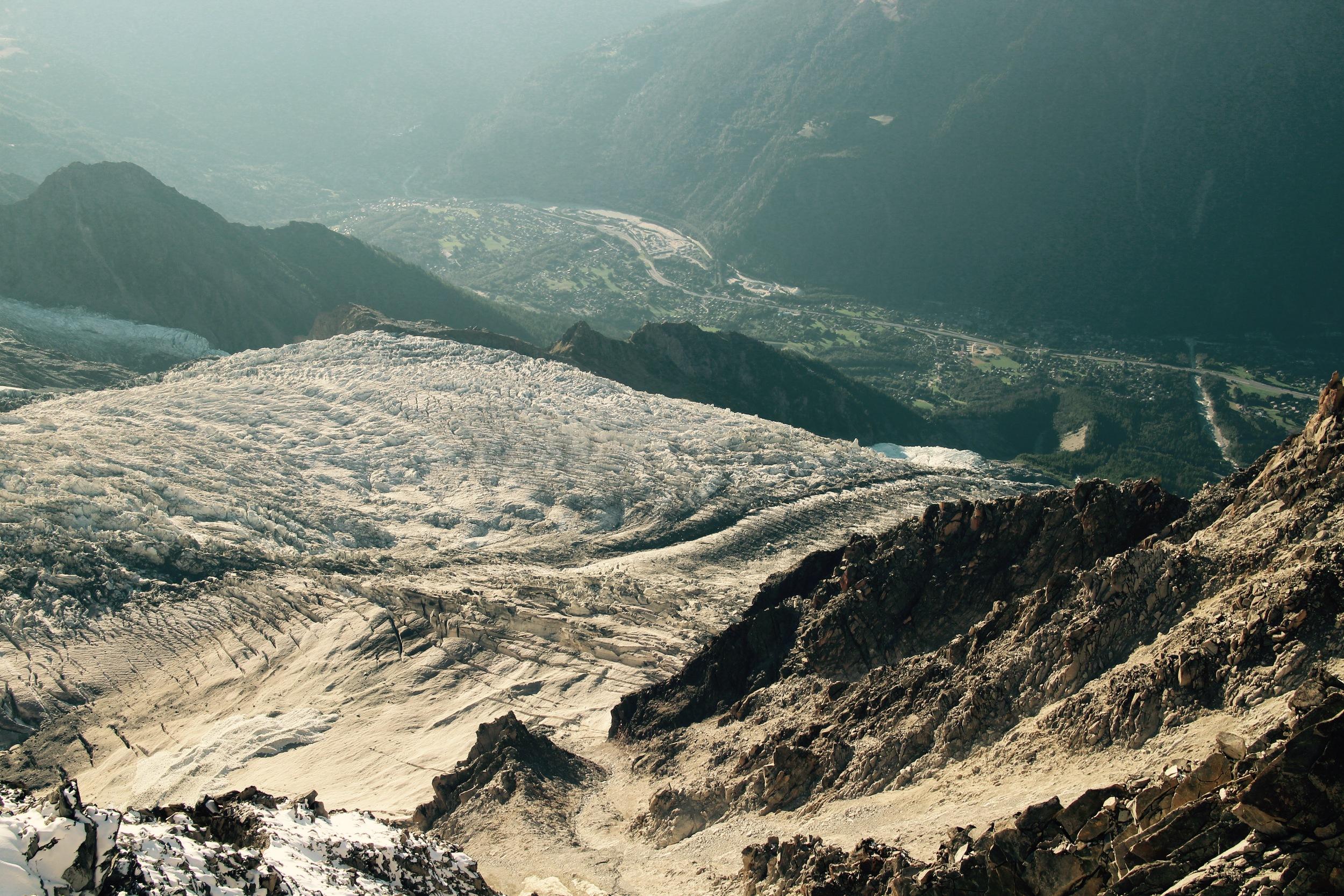 Above Chamonix/Savage country.
