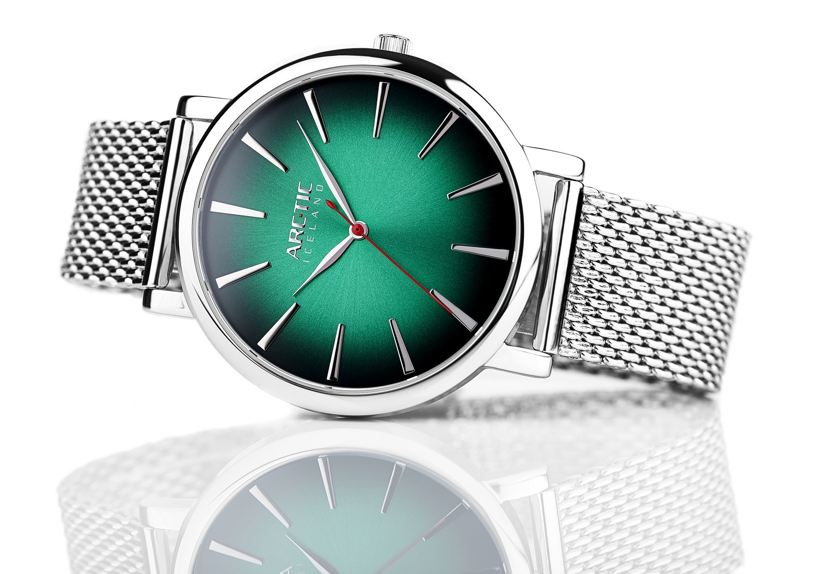 ARC-TIC Iceland Retro Green   42mm or 36mm with Steel band -   Learn More