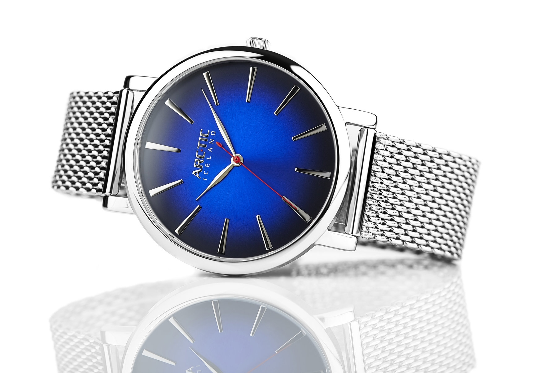 ARC-TIC Iceland Retro Blue 42mm or 36mm with Steel band -   Learn More