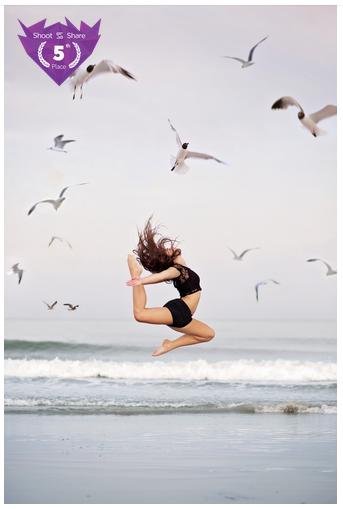 dance beach photograph