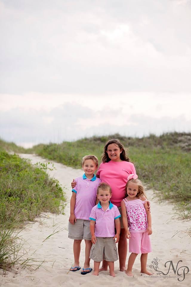 Huntington Beach State Park family portraits