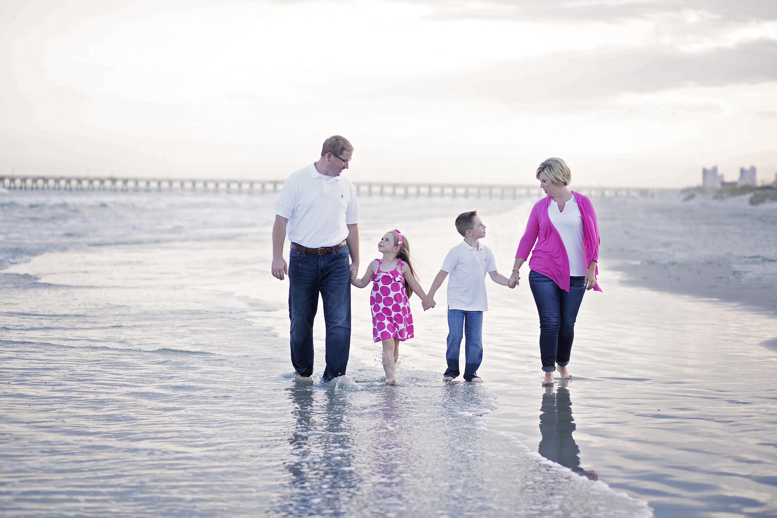 cherry grove beach family beach photography