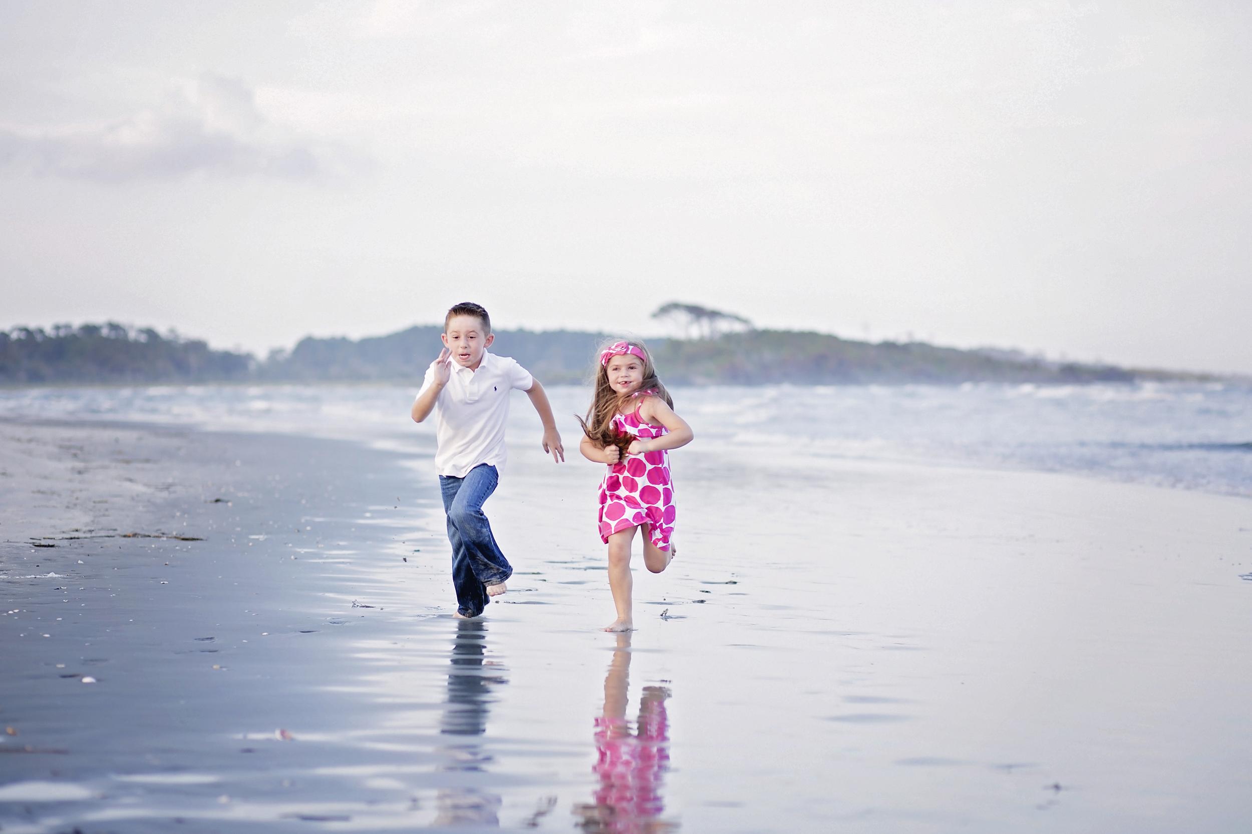 cherry grove family beach photography