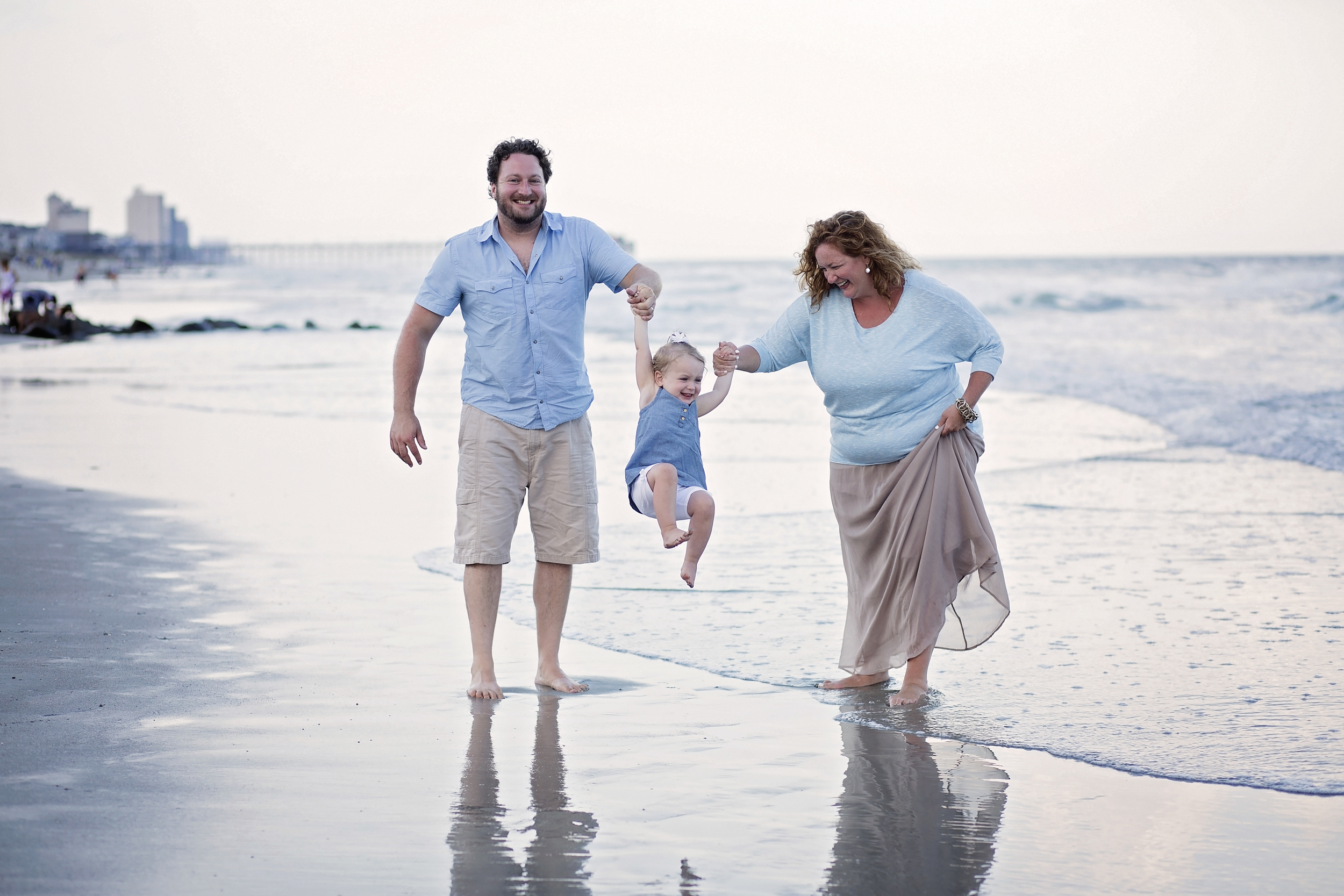 garden city beach realty family photography