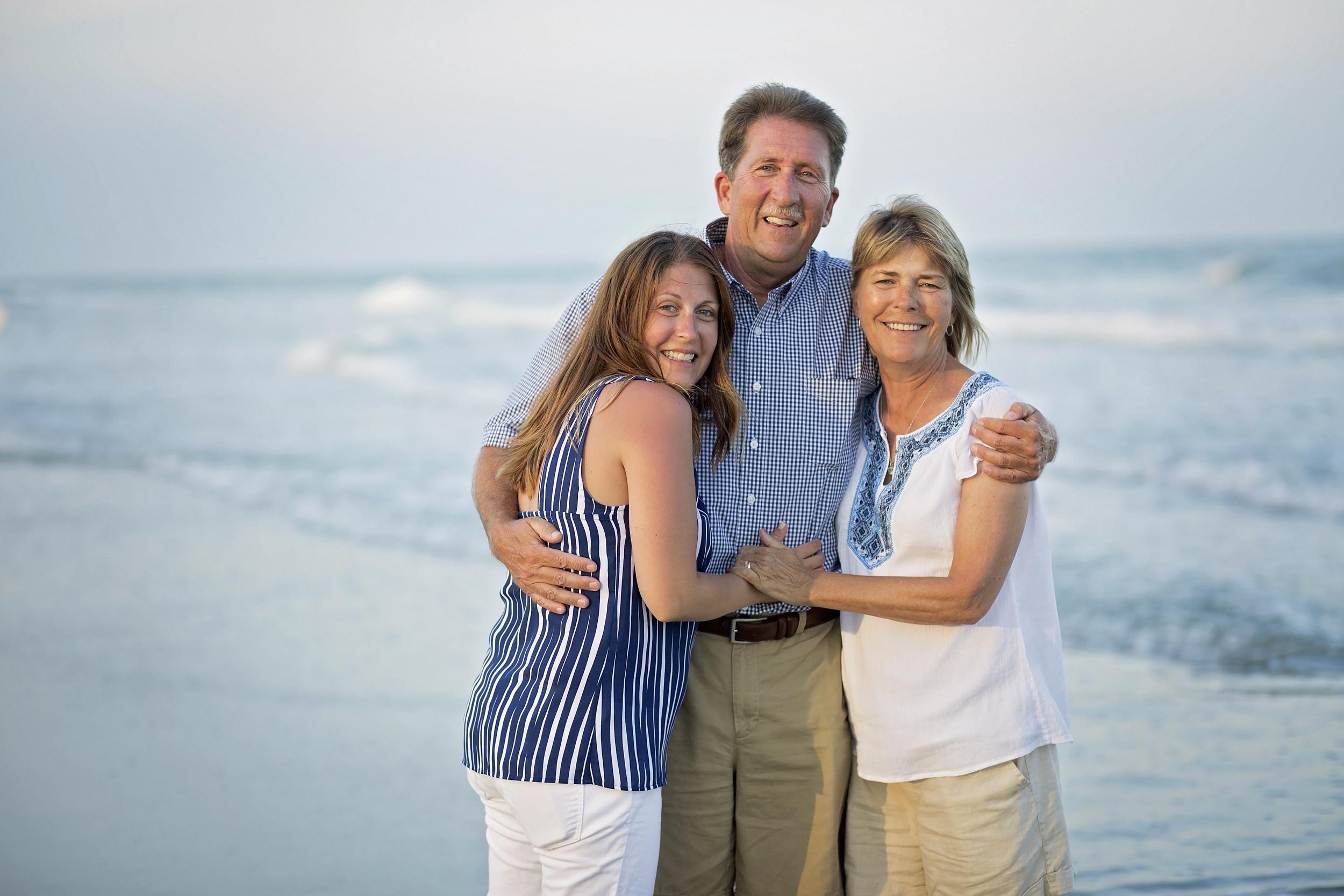 garden city beach family portraits