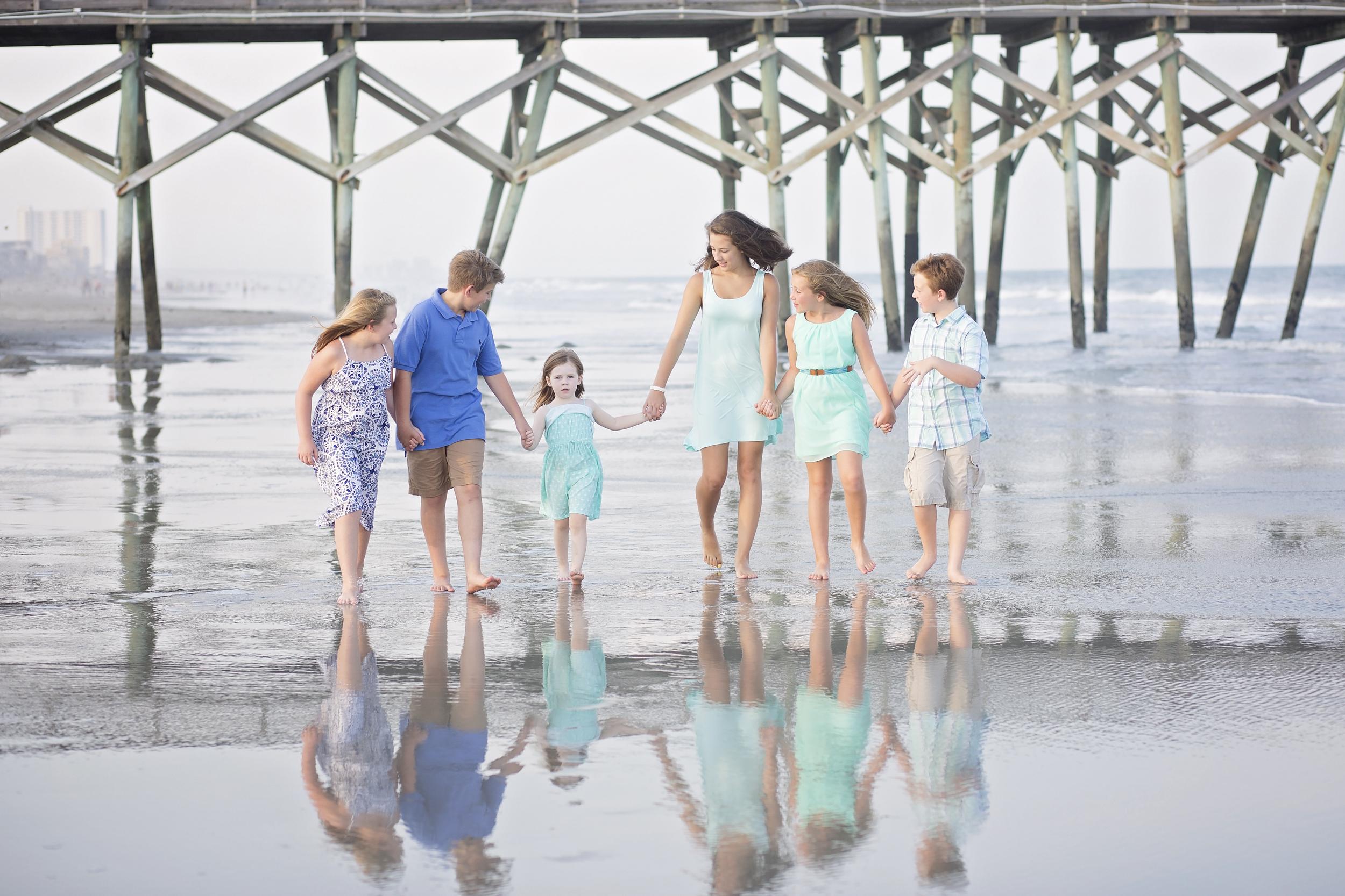surfside beach sc family beach photography