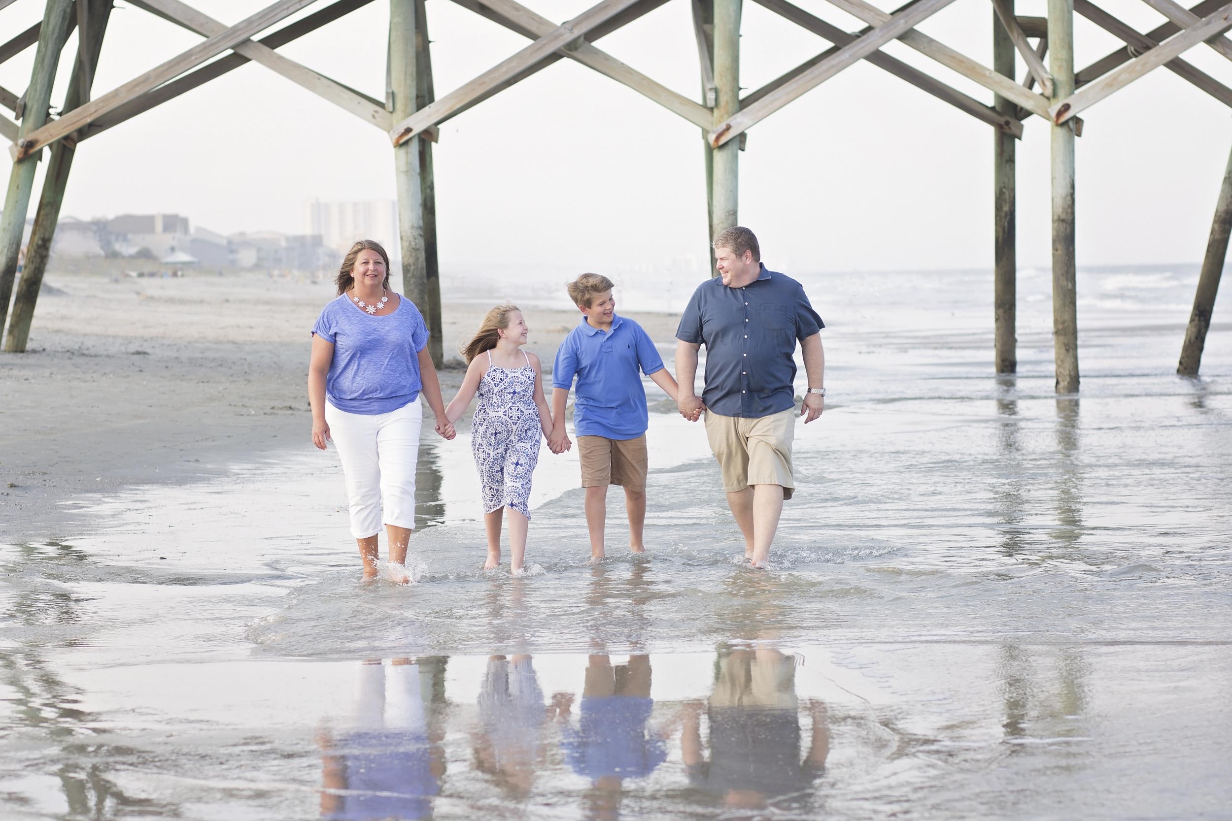 surfside beach sc family beach photographer