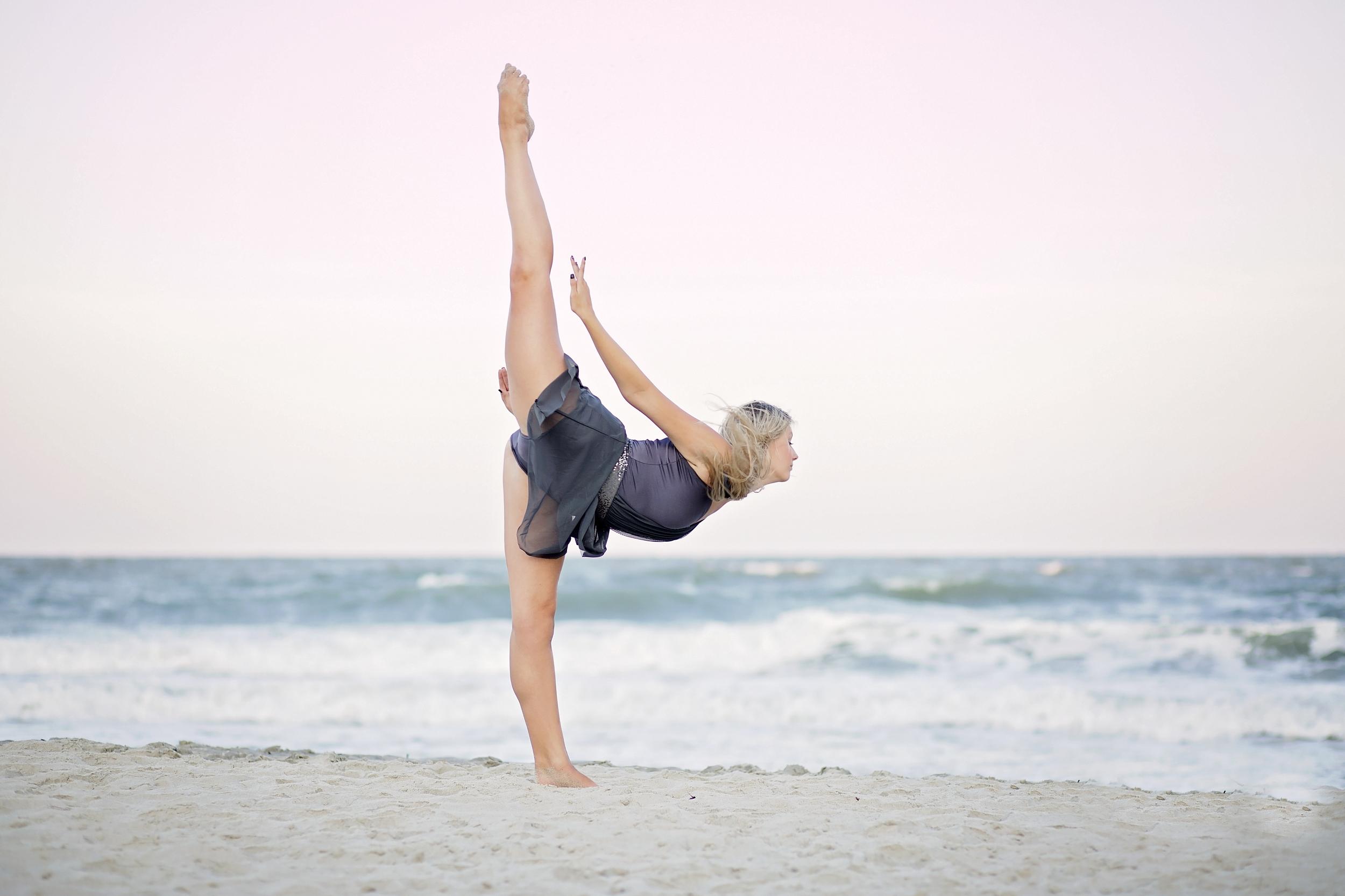 beach dancer myrtle beach state park dance photography surfside