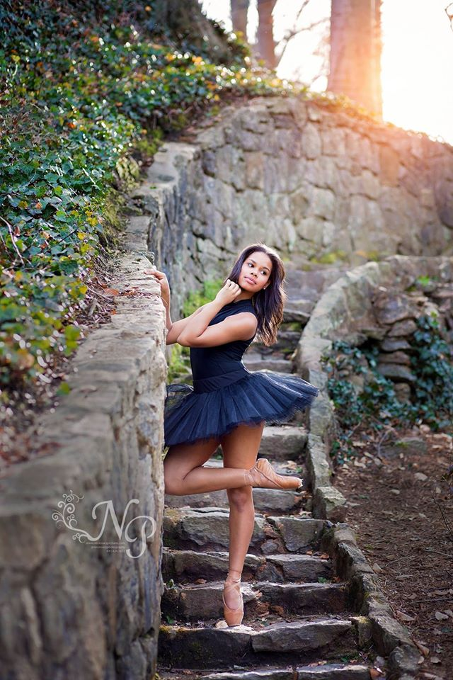 pickens, sc senior ballet portraits