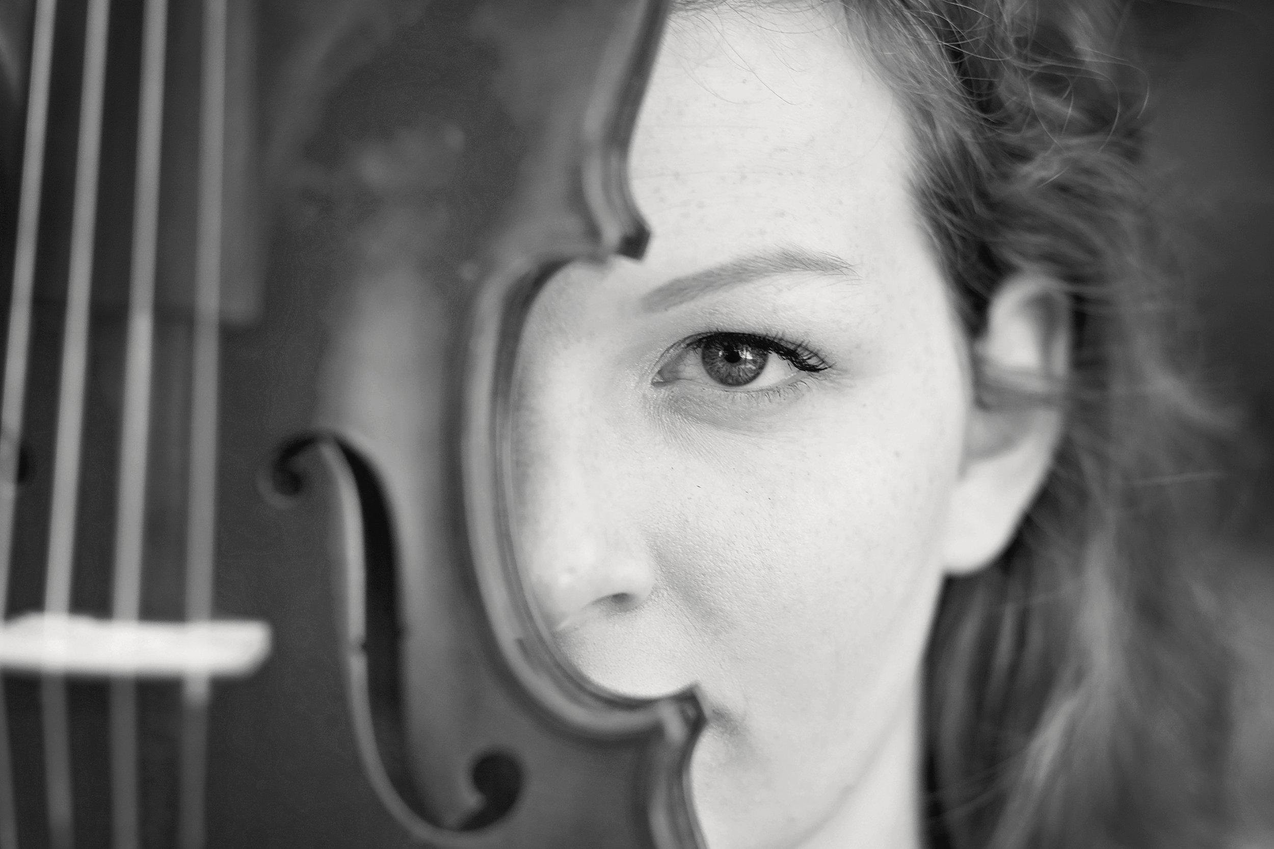 senior portraits violin clemson sc seneca high